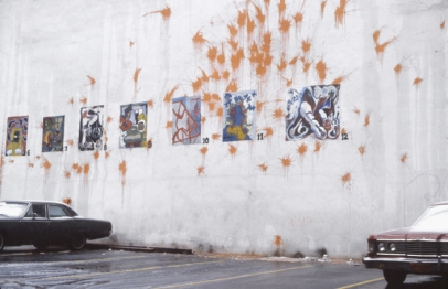 "Avant, ""Drive-In Show"", Soho, New York, 1984"